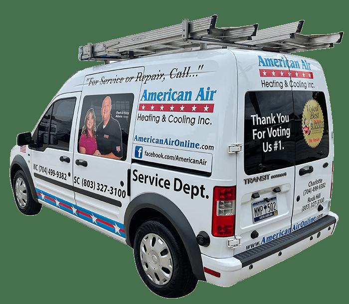 American Air Heating & Cooling | company van